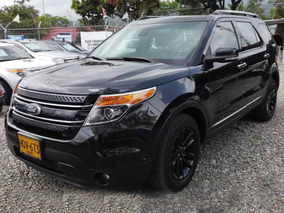 Ford Explorer Limited Negra 4x4 Sunroof 7 Puestos