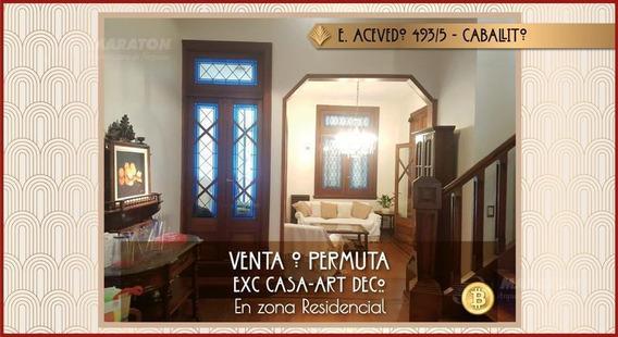 Excelente Casa / Ph En Caballito En Venta - Con Terraza Y Quincho
