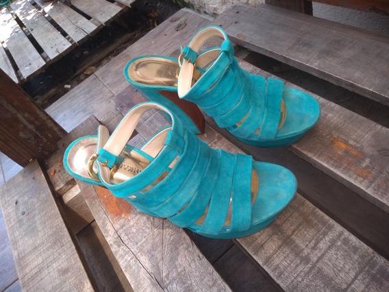 Zapatos Sandalias Plataforma Sarkany 38
