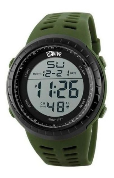 Reloj Revive Kr0713 Verde Hombre