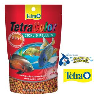 Tetracolor Pro Ciclidos Pellets 55g Alimento Peces Acuario