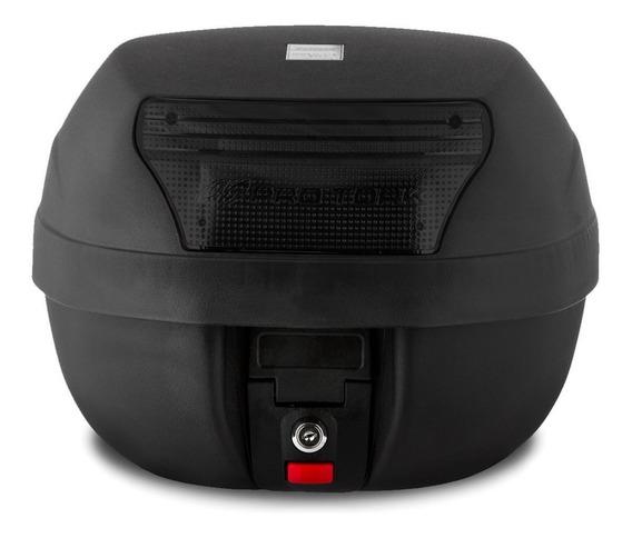 Baú Bauleto Moto 28 Litros Modelo Smart Box Lente Fume