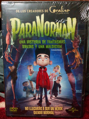 Imagen 1 de 2 de Paranorman. Dvd