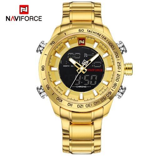 Relógio Masculino Original Naviforce Caixa Original + Brinde