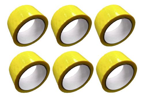 P Cinta Amarilla Adhesiva X 6 Unidades