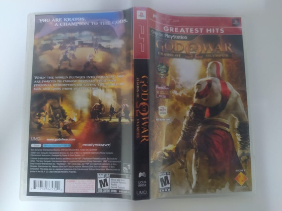 God Of War Chains Of Olympus - Psp - Original