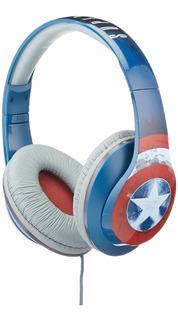 Ekids Capitan America Niños Auriculares Audifonos