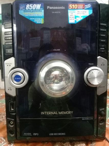 Micro System Panasonic Sa-akx70