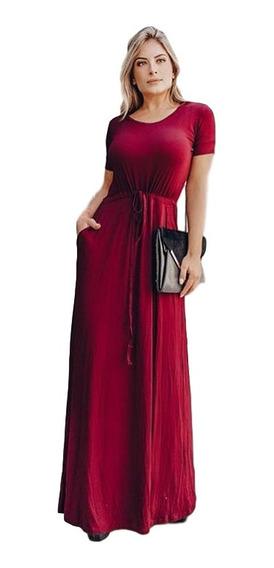 Vestido Longo Dia A Dia Evangelico Moda Blogueira Tendencia