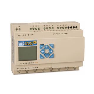 Controlador Clp Clw-02 20hr-12d 3rd Clic02 12vcc Weg
