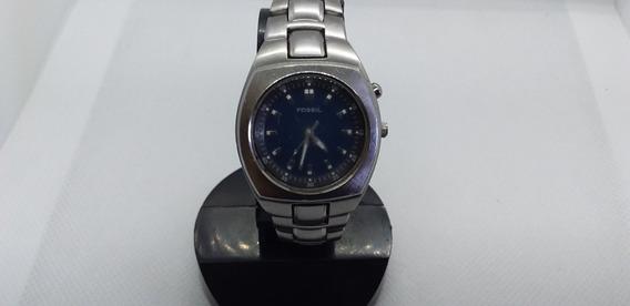 Relógio Fossil Blue Unissex