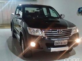 Toyota Hilux 3.0 Srv Cab. Dupla 4x4 Aut. 4p Preta