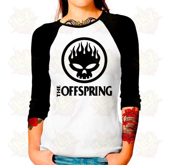 Envío Gratis Playera Raglan Dama The Offspring Mod. 2