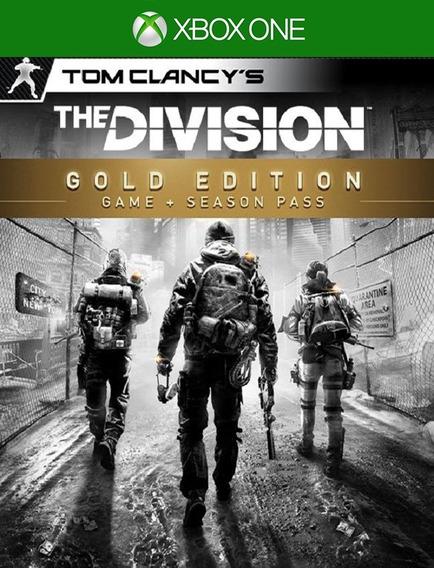 Tom Clancys The Division Gold Xbox 25 Dígitos (envio Flash)
