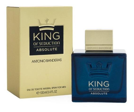 King Of Seduction Absolute 100 Ml Edt Spray De Antonio Bande
