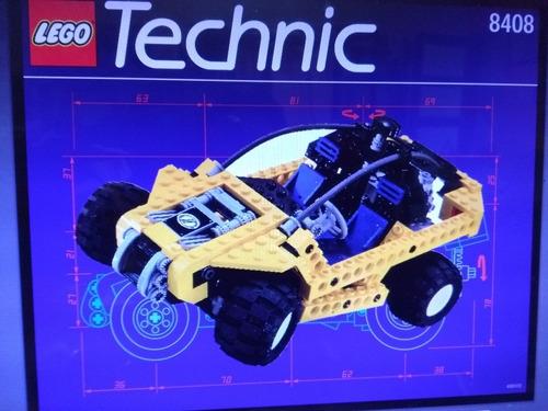 Buggy Lego Technic 8408 284 Piezas, 2 Modelo Diferentes