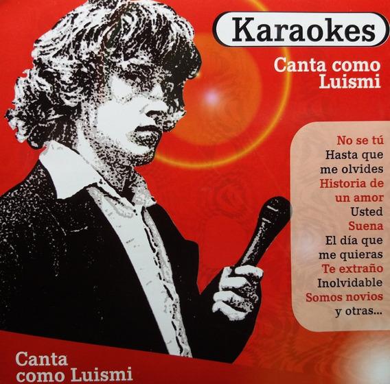 Karaokes - Canta Como Luis Miguel Cd@
