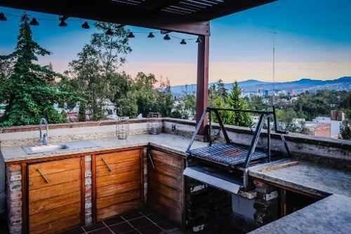 Magnífico Pent House En Nabor Carrillo Con Roof Garden Privado. $5,500,000.00