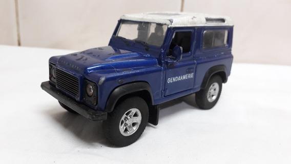 Land Rover Defender Gendarmeria Welly 1/43 Abre Puertas