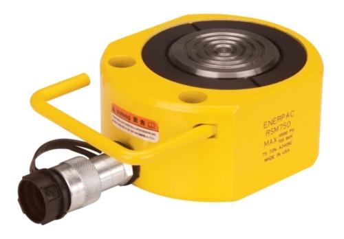 Imagen 1 de 1 de Rsm-750-enerpac-cilindro De Baja Altura-simple Acción-75ton