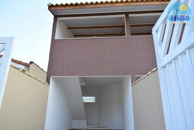 Casa No Bairro Ribamar Em Peruíbe - 855