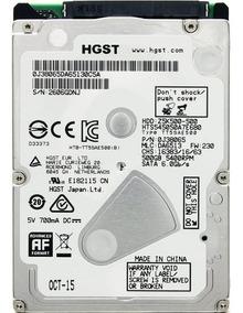 Hd Notebook 500gb Sata 3 Hitachi Hgst Slim 7mm 5400rpm