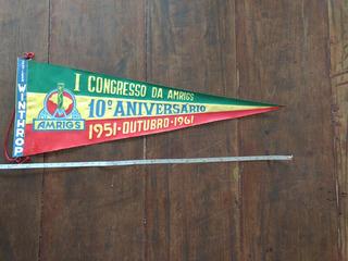 Antiga E Rara Flamula De 1961 Amrigs