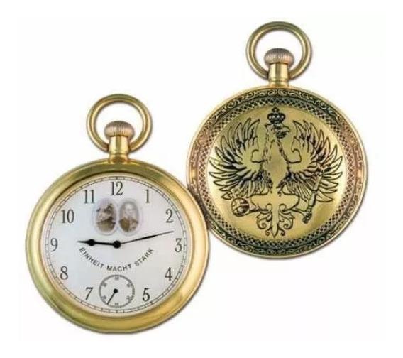Coleção Relógios Históricos - Otto Von Bismarck Novo !!!