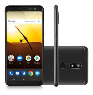 Smartphone Multilaser Ms80 4g 32gb 5,7 Dual 7.1 20mp - Preto