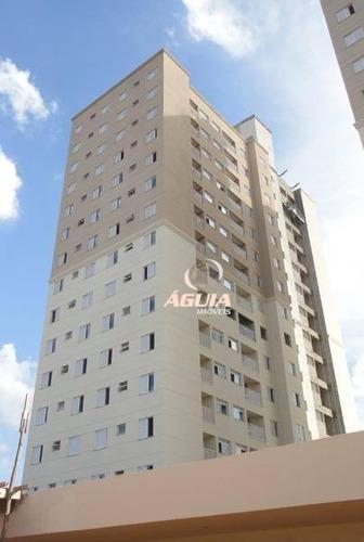 Apartamento Com 2 Dormitórios À Venda, 50 M² Por R$ 275.000 - Utinga - Santo André/sp - Ap2458