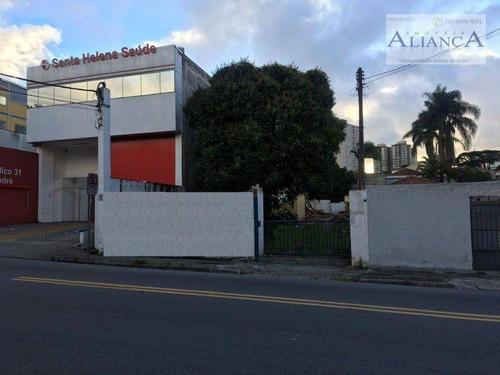 Terreno À Venda, 500 M² Por R$ 1.600.000,00 - Vila Alzira - Santo André/sp - Te0093