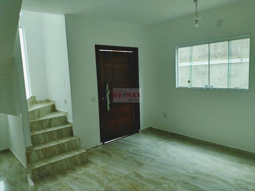 Imagem 1 de 18 de Casa Com 3 Dormitórios À Venda, 120 M² Por R$ 369.990,00 - Cézar De Souza - Mogi Das Cruzes/sp - Ca0198