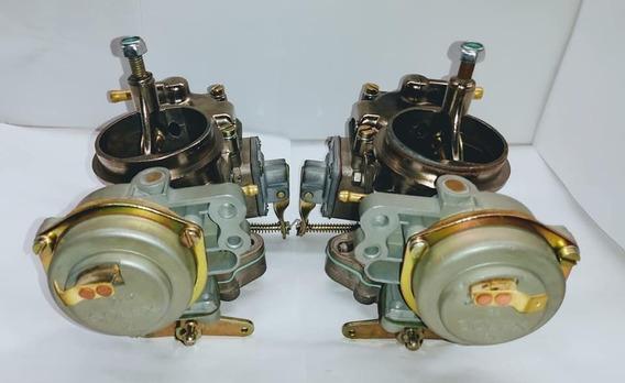Carburador Kombi/fusca/brasilia Dupla Álcool 1.600 Solex