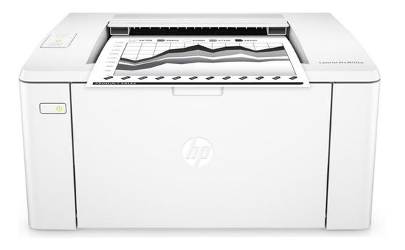 Impresora Hp Wifi Laserjet Pro M102w Blanco Y Negro