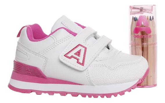 Zapatillas Addnice Baby Classic R.abrojo + Lapicero Bl/fu