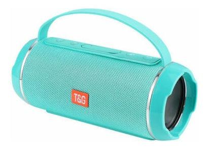 Caixa Som Bluetooth 10w / Fm / Usb / Aux / Sd Tg-116c