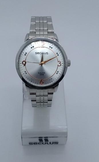 Relógio Seculus Feminino 28528losgna1