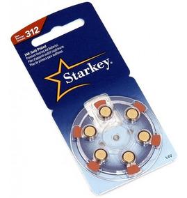 60 Baterias Pilhas Aparelho Auditivo 312 / Pr41 - Starkey