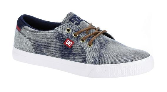 Tenis Dc Shoes Mezclilla Deslavada Nuevos #28