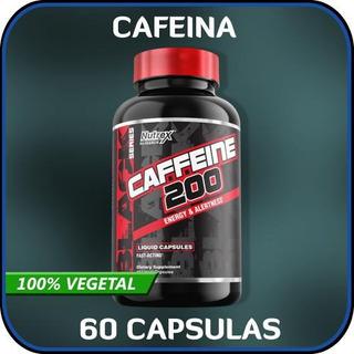 Nutrex Cafeína 200mg (60 Capsulas)