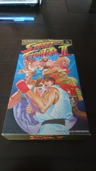 Street Fighter Ii Original Completo Para Super Famicom