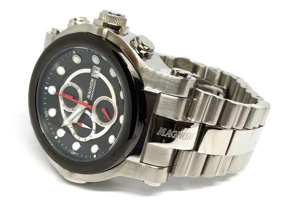 Relógio Magnum Cronógrafo Ma32292t - Original Nfe