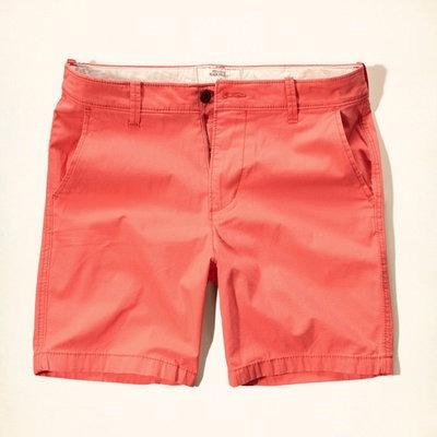 Hollister Short Caballero Color Coral Talla 38 Sale