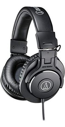 Imagen 1 de 6 de Audio-technica Ath-m30x Profesionales Auriculares Monitor D