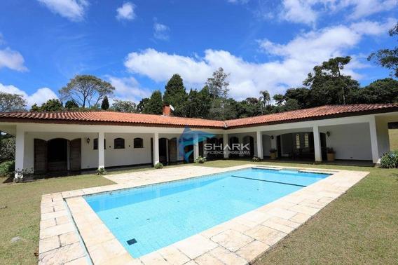 Casa Com 4 Dormitórios À Venda, 500 M² Por R$ 1.000.000 - Zona Rural - Ibiúna/sp - Ca0034