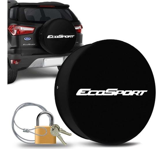 Capa Estepe Ecosport Aro 15 E 16 Estampa Ecosport Cadeado