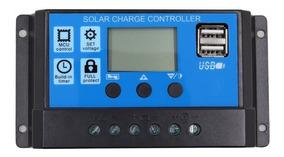 Controlador De Carga Solar 12/24v 40 Amperes Pronta Entrega