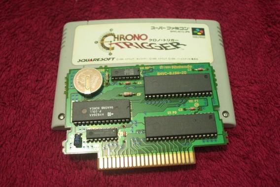 Jogo Chrono Trigger 100% Original Super Nintendo Snes
