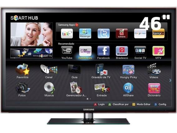 Tv Samsung 46 Polegadas Full Hd Led Un46d5500 - Mostruário