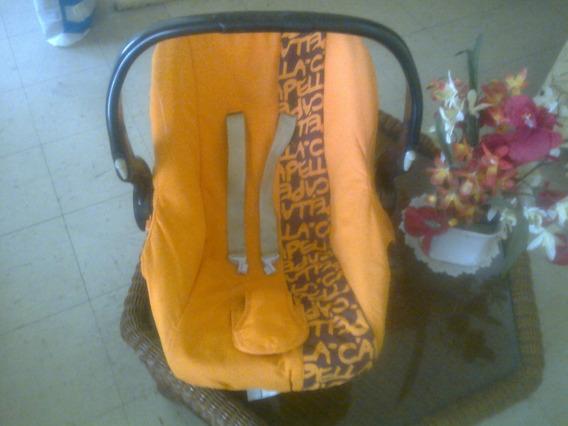 Porta Bebe/silla Para Auto Marca Capella